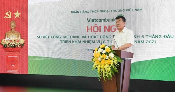 Đồng chí Nguyễn Đức Phong – Phó Bí thư Đảng ủy Khối Doanh nghiệp Trung ương phát biểu chỉ đạo tại hội nghị