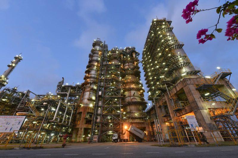 Phân xưởng RFCC - Nhà máy lọc dầu Dung Quất