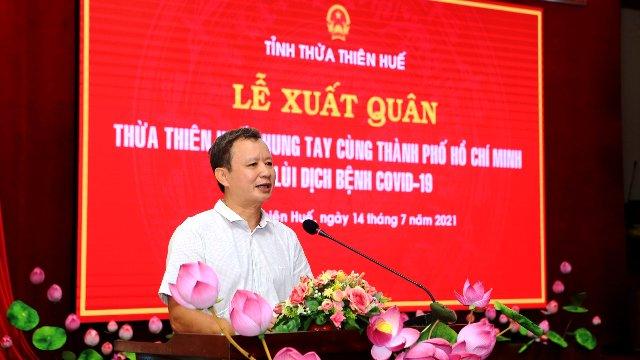 Ông Lê Trường Lưu- Bí thư tỉnh uỷ, chủ tịch HĐND tỉnh TT-Huế