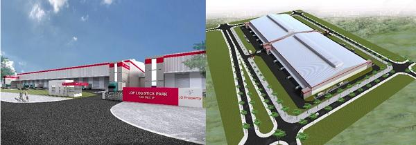 Phối cảnh dự án nhà kho JD Property Logistics Park