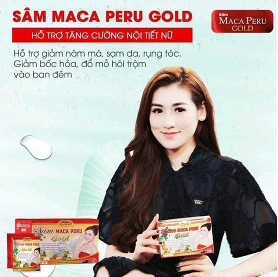 Sâm Macca Peru Gold với nguồn gốc thảo dược là một trong những sản phẩm được chị em tin dùng, sản phẩm được phân phối bởi công ty Dược Phẩm G24
