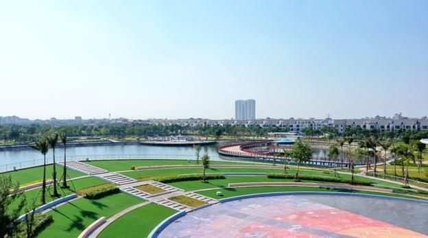 Công viên Thiên văn học rộng 12ha tọa lạc tại trung tâm Khu đô thị Dương Nội