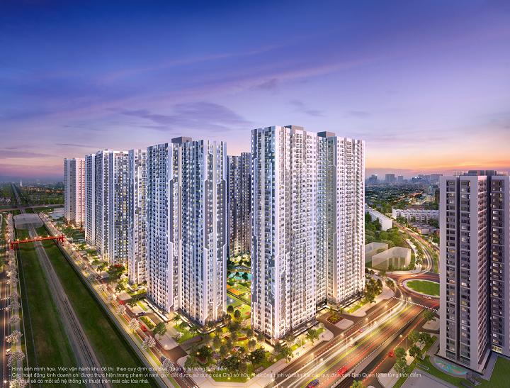 The Miami sở hữu vị trí đắc địa giúp kết nối thuận tiện cả nội và ngoại khu