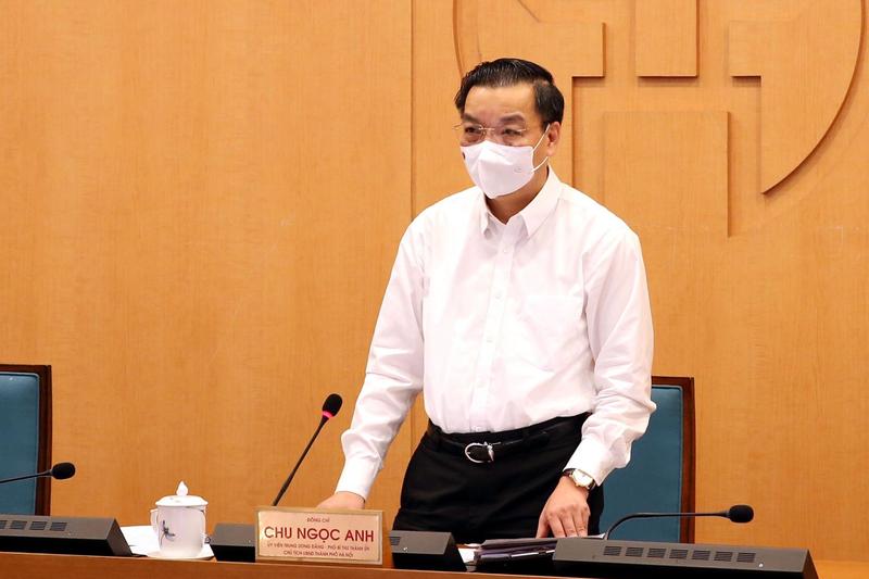 Chủ tịch UBND thành phố Hà Nội Chu Ngọc Anh