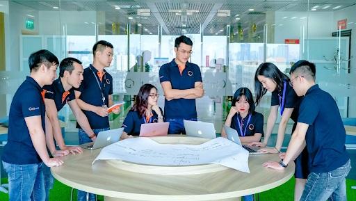 Đội ngũ kỹ sư của Ominext Group