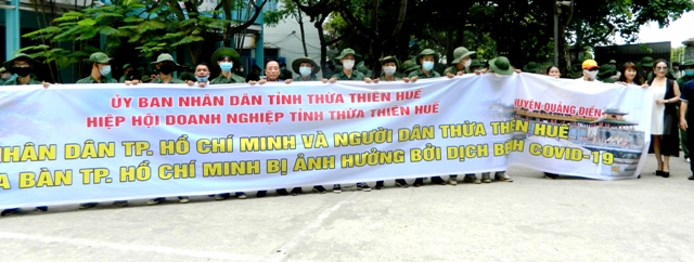 Doanh nghiệp TT- Huế gửi nhân dân TP Hồ Chí Minh