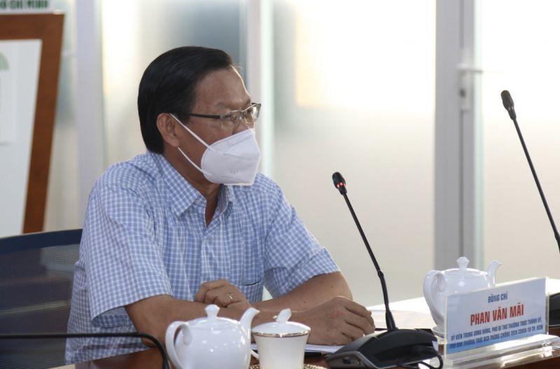 Ông Phan Văn Mãi – Phó Bí thư Thường trực TP.HCM