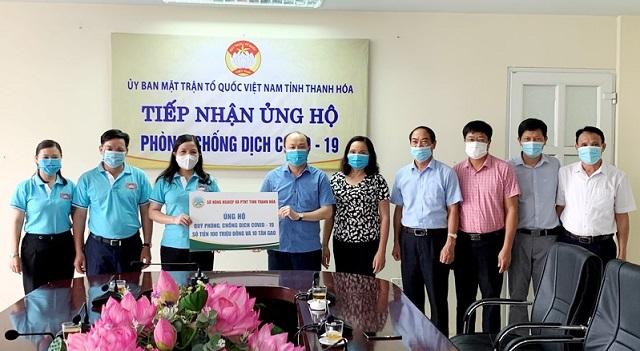 """Sở Nông nghiệp và Phát triển nông thôn Thanh Hóa với nghĩa cử """"Hướng về thành phố mang tên Bác"""""""