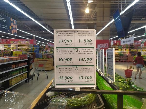 Trên mỗi sản phẩm đều được niêm yết giá bán để khách hàng có thể theo dõi và lựa chọn
