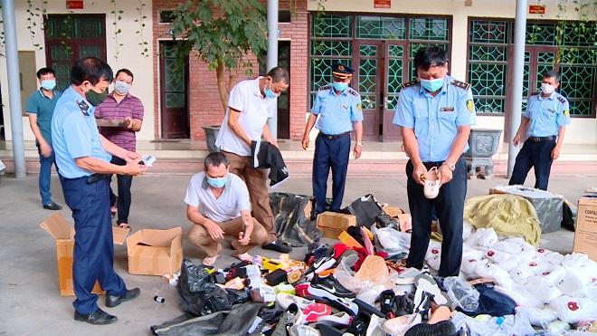 Hơn 25 nghìn sản phẩm vi phạm hành chính vừa bị lực lượng chức năng tỉnh Bắc Ninh tiến hành tiêu hủy