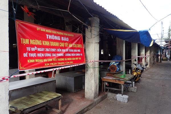 chợ Tây Hải (chợ Chụt)- P. Vĩnh Nguyên- Tp. Nha Trang 16 giờ 40 ngày 26/7/2021