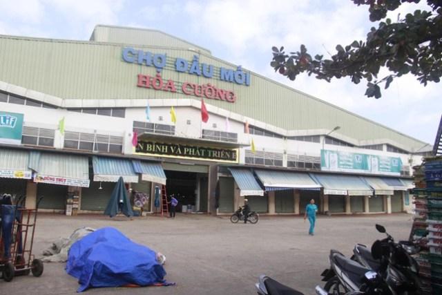 Chợ đầu mối Hòa Cường có trường hợp dương tính tới mua bán tại quầy cá.