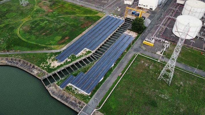 Hệ thống điện mặt trời tại Công ty Nhiệt điện Phú Mỹ