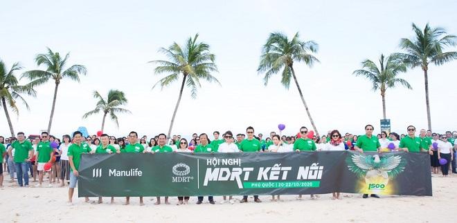 Manulife Việt Nam dẫn đầu bảng xếp hạng Bàn tròn Triệu đô tại Việt Nam