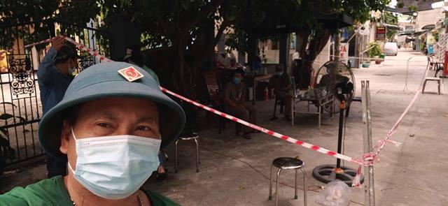 Các khu vực thuộc phường Hòa Khánh Bắc siết chặt, kiểm tra nghiêm ngặt người qua lại