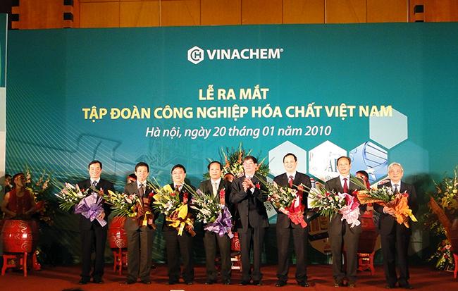Lễ ra mắt Tập đoàn công nghiệp hóa chất Việt Nam