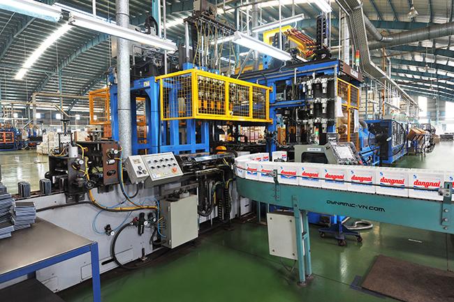 Sản xuất Ắcquy tại Công ty CP Pin Ắcquy miền Nam