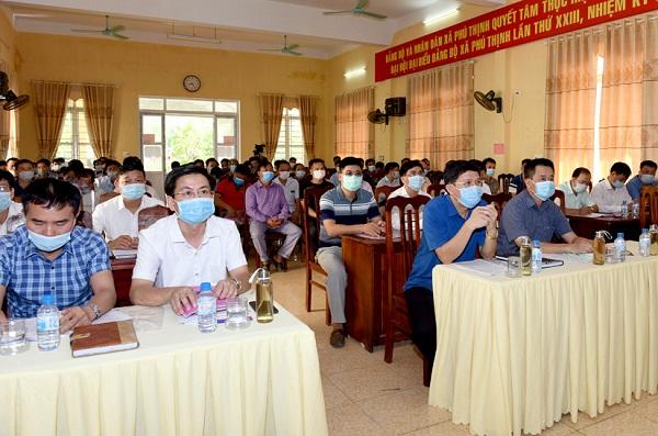 Đại biểu tham gia buổi tọa đàm