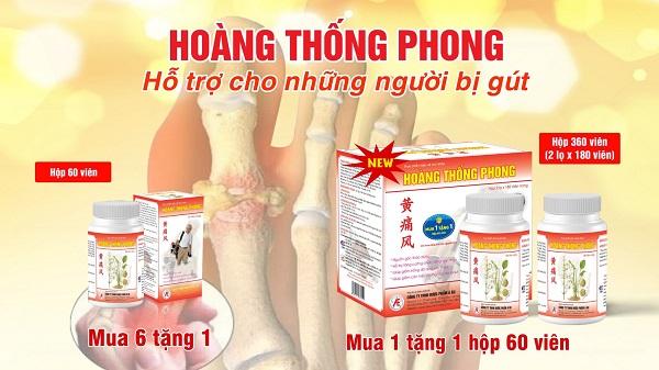 Thực phẩm bảo vệ sức khỏe Hoàng Thống Phong