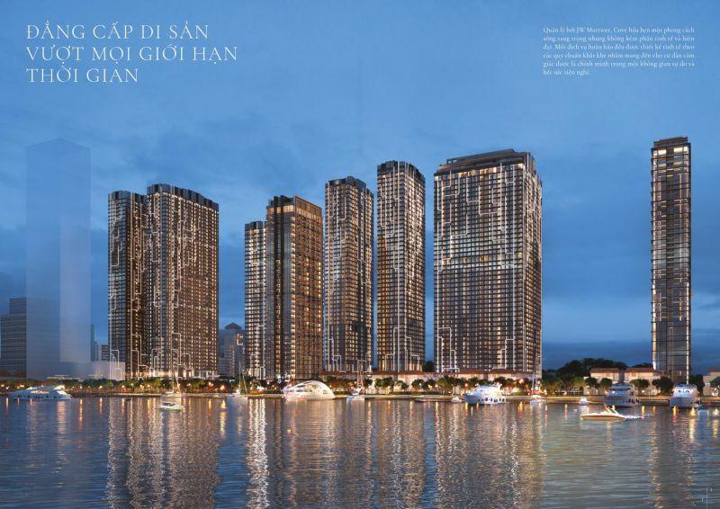 Phối cảnh dự án Grand Marina Saigon