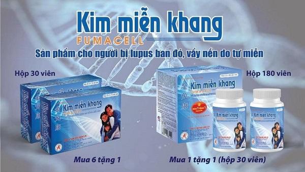 Thực phẩm bảo vệ sức khỏe Kim Miễn Khang