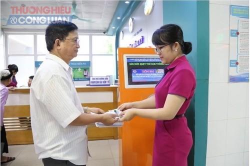 Đăng ký khám bệnh bằng thẻ thông minh tại Bệnh viện Đa khoa tỉnh Phú Thọ