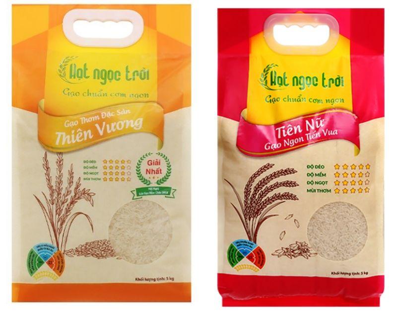 """Hai loại gạo thơm đặc sản của Tập đoàn Lộc Trời đạt """"Sản phẩm OCOP cấp quốc gia"""""""
