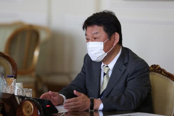Ngoại trưởng Nhật Bản Motegi Toshimitsu