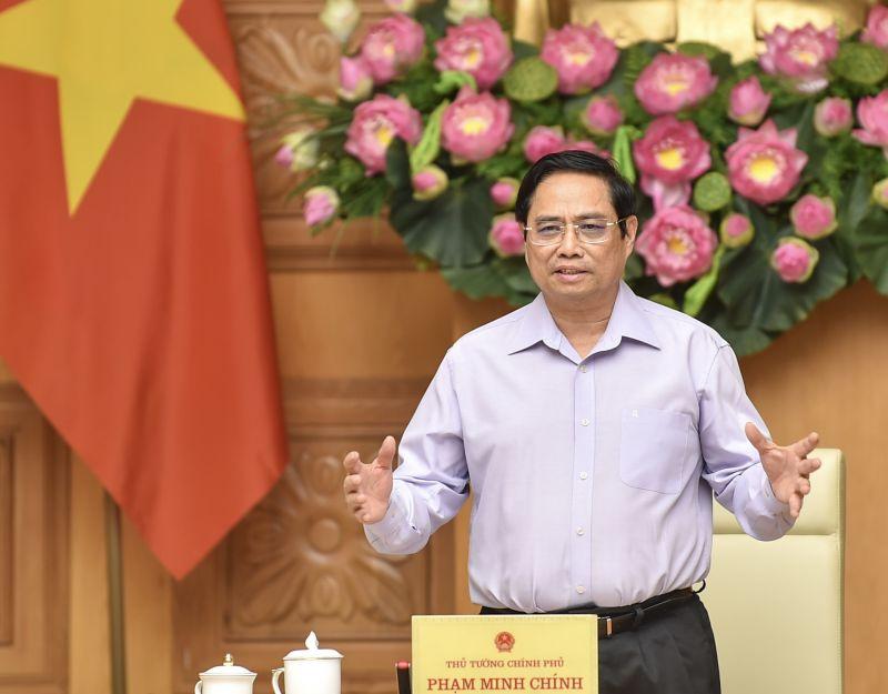 Thủ tướng nêu rõ, Chính phủ Việt Nam luôn sẵn sàng tạo điều kiện và đồng hành để các doanh nghiệp nước ngoài, trong đó có doanh nghiệp Hàn Quốc đầu tư, kinh doanh thuận lợi. Ảnh VGP/Nhật Bắc