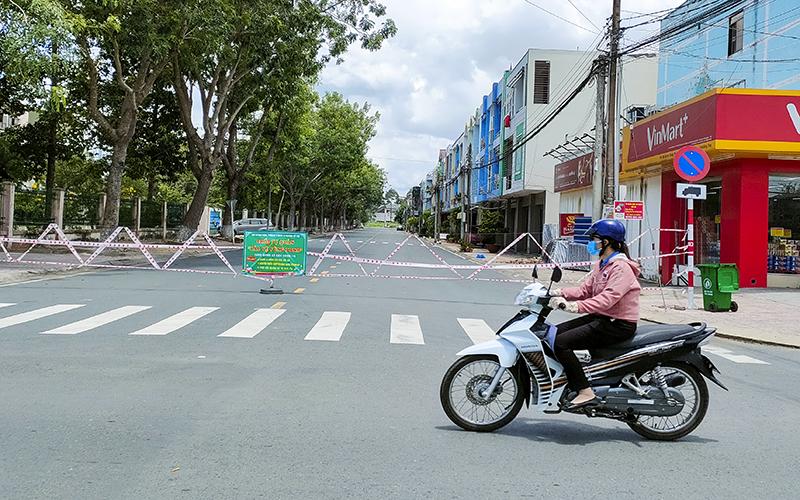 TP Cao Lãnh cùng bảy huyện, thành phố thực hiện giãn cách xã hội theo Chỉ thị 15+