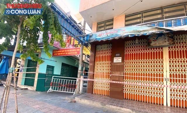 Kiệt 222 Trần Cao Vân, phường Tam Thuận, quận Thanh Khê đã phong tỏa