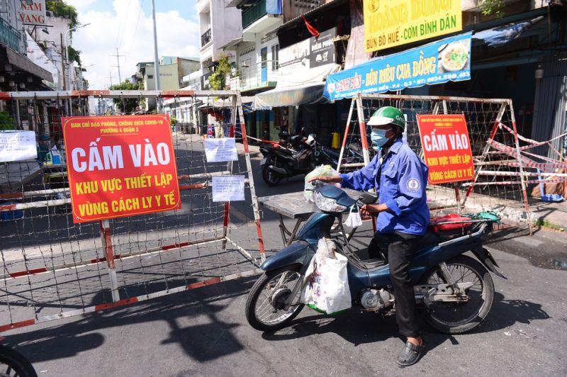 TP. Hồ Chí Minh giãn cách thêm 2 tuần kể từ 0h ngày 16/9