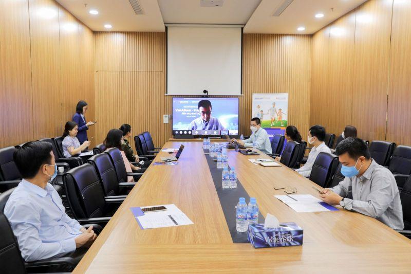 Lễ kick-off là bước khởi động cho dự án triển khai phân phối bảo hiểm nhân thọ giữa VietABank và MAP Life