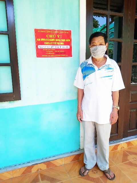 Tổ 13 phường Vỹ Dạ rất nhiều hộ gia đình bị cách ly nhưng số lượng người dân được tiêm vắc xin thì quá ít