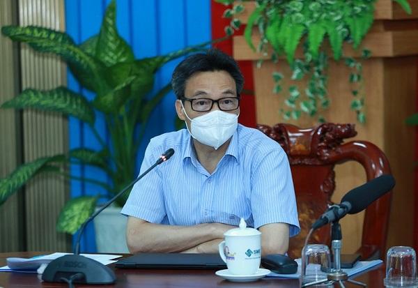 Phó Thủ tướng Vũ Đức Đam phát biểu tại cuộc họp