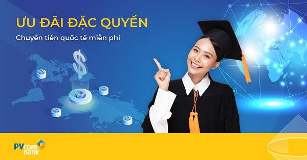 Ngân hàng TMCP Đại Chúng Việt Nam (PVcomBank) áp dụng chương trình ưu đãi đặc biệt, miễn hoặc giảm phí chuyển tiền quốc tế cho CBNV, nhóm khách hàng chiến lược, khách hàng ưu tiên. Điều này không chỉ giúp khách hàng dễ dàng kết nối với người thân ở nước ngoài mà còn được hưởng rất nhiều lợi ích lớn về tài chính.