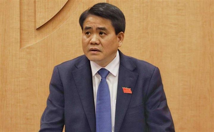 ông Nguyễn Đức Chung - cựu chủ tịch UBND thành phố Hà Nội