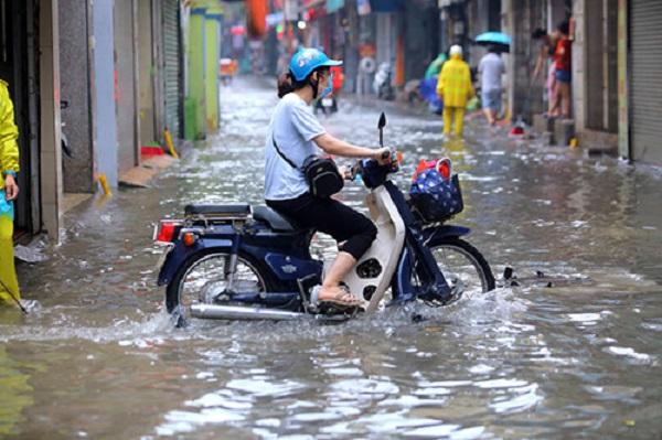 Trung Bộ và Tây Nguyên có mưa rào và giông