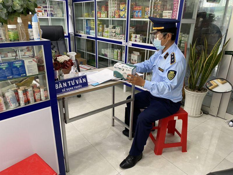 Đội QLTT số 3 kiểm tra trang thiết bị y tế tại huyện Tân Phước
