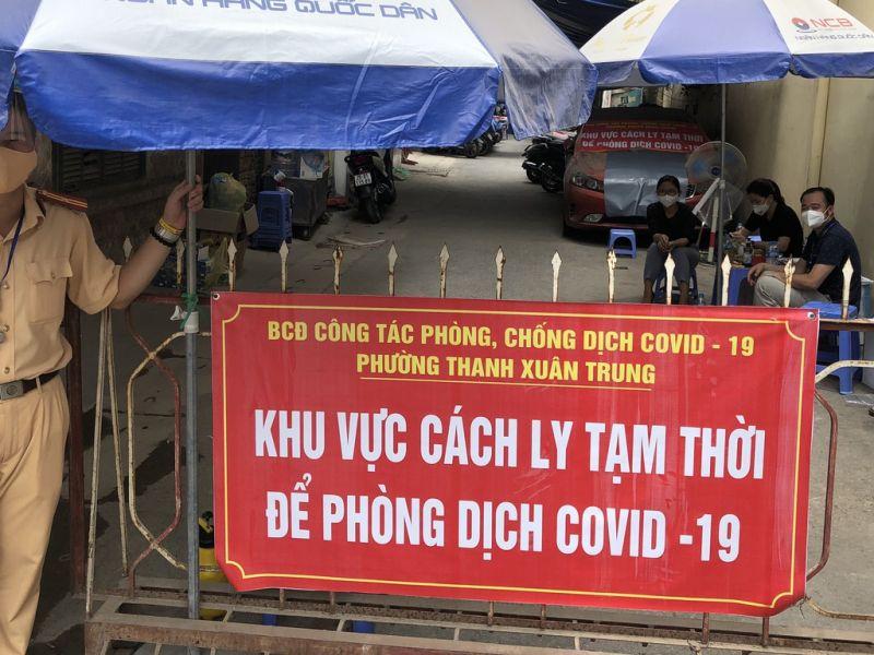 Tính từ 18h ngày 22-9 đến 18h ngày 23-9 Hà Nội ghi nhận 5 ca mắc mới