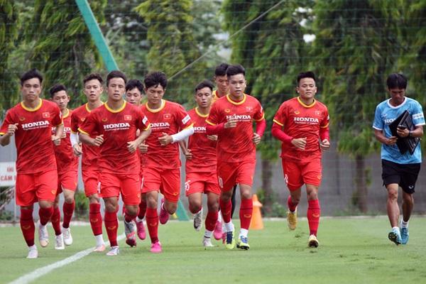 23 Việt Nam tích cực tập luyện để chuẩn bị cho vòng loại U23 châu Á 2022