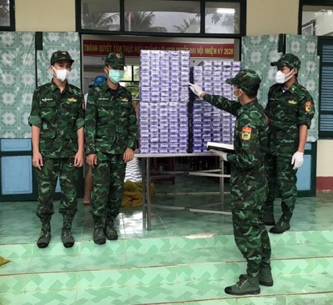 Chỉ trong vòng 1 tháng, lực lượng Bộ đội Biên phòng đã bắt giữ 143 vụ với 137 đối tượng vi phạm