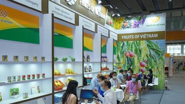 Doanh nghiệp Việt Nam tham gia Hội chợ Hoa quả Quảng Châu theo mô hình