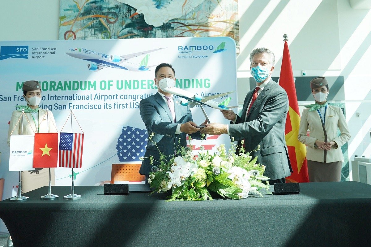 Một đường bay thẳng thường lệ Việt - Mỹ do hãng bay Việt vận hành sẽ mang giá trị lớn về mặt thương hiệu