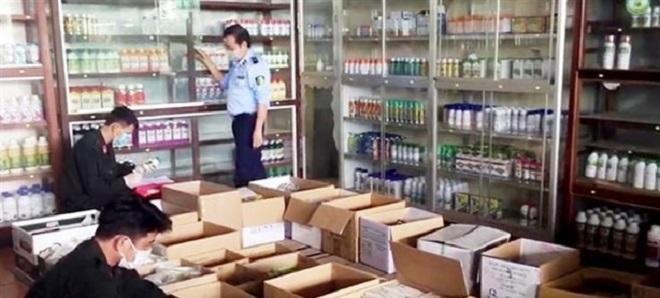 An Giang: Thu giữ hơn 7.700 sản phẩm thuốc bảo vệ thực vật không rõ nguồn gốc