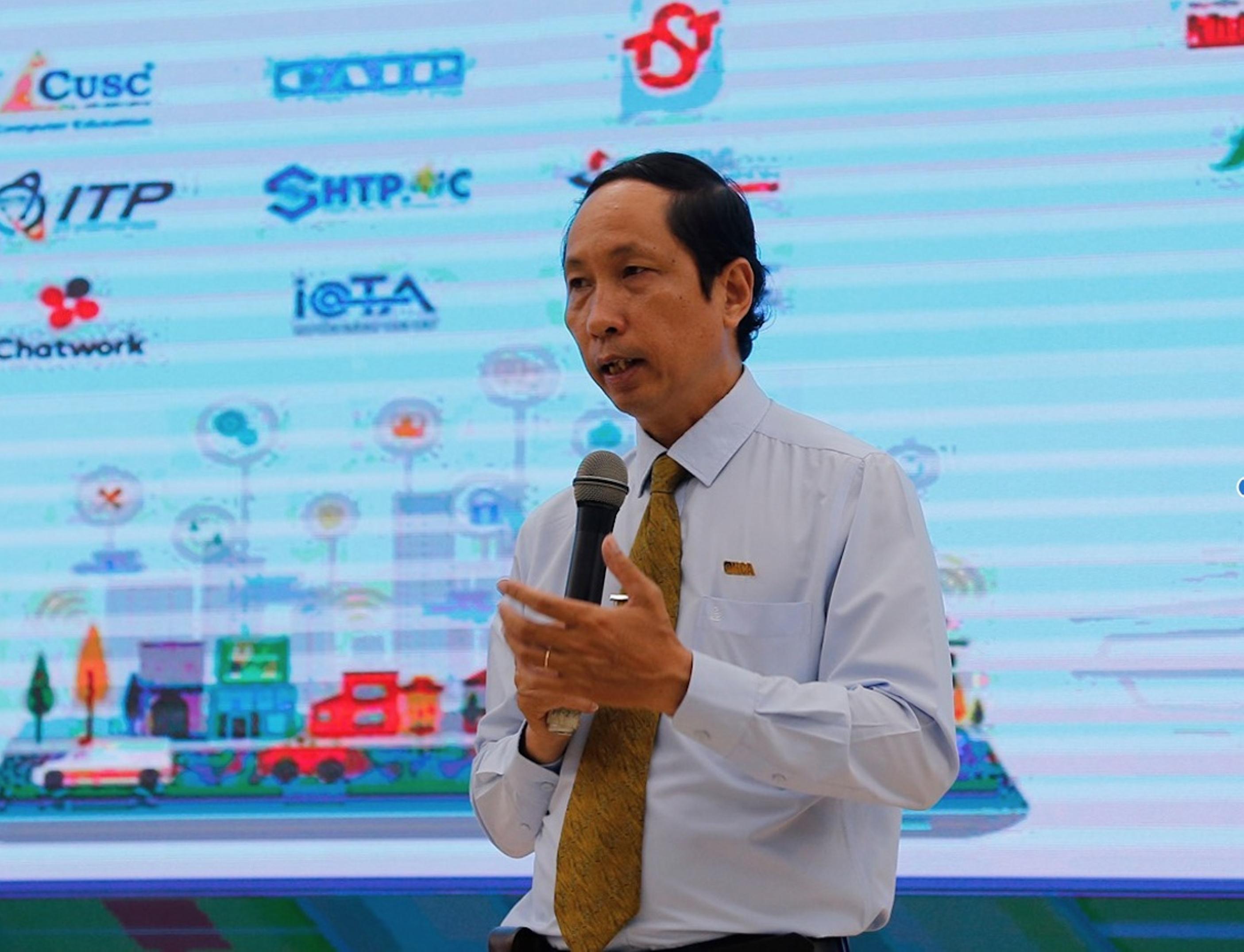 Tổng thư ký Hội Tin học TP. HCM Vũ Anh Tuấn