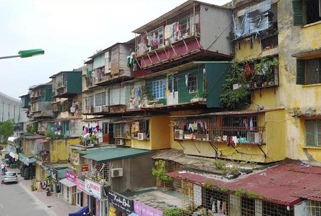 Ban hành đề án cải tạo, xây dựng lại chung cư cũ trên địa bàn thành phố Hà Nội.