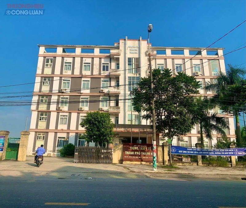 Trụ sở Trung tâm Y tế thành phố Thanh Hóa
