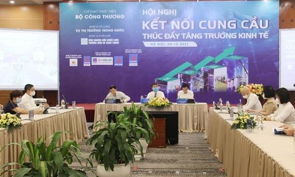 """Hội nghị """"Kết nối cung cầu thúc đẩy tăng trưởng kinh tế"""""""