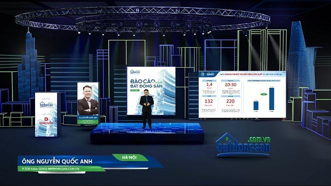 Hội nghị trực tuyến công bố báo cáo BĐS quý III.2021 của Batdongsan.com.vn